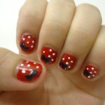 Minnie Mouse inspired Nail art , 5 Minnie Mouse Nail Art In Nail Category