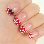 Minnie Nail Art , 5 Minnie Mouse Nail Art In Nail Category