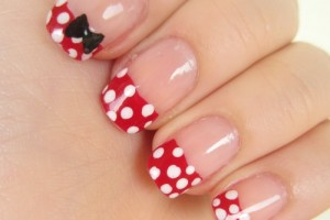 500x543px 5 Minnie Mouse Nail Art Picture in Nail