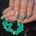 Nail Design turquoise color , 6 Turquoise Nail Designs In Nail Category