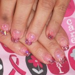 Nails Style Photo , 7 Breast Cancer Nail Designs In Nail Category