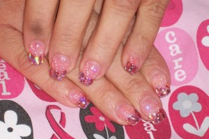 Nail , 7 Breast Cancer Nail Designs : Nails Style Photo