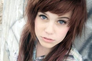 Hair Style , 6 Emo Hairstyles For Girls With Brown Hair : Natural Brown Hair for Young Girl
