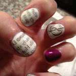 Newspaper Nail Designs , 7 Newspaper Nails Designs In Nail Category