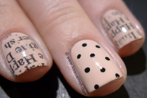 640x426px 7 Newspaper Nails Designs Picture in Nail