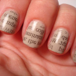 Newspaper nails fashion , 7 Newspaper Nails Designs In Nail Category