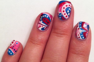 1493x1100px 6 Patriotic Nail Art Designs Picture in Nail