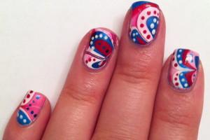 Nail , 6 Patriotic Nail Art Designs : Patriotic Nail Designs