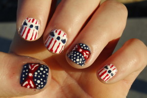 Nail , 6 Patriotic Nail Art Designs : Patriotic nails recreated