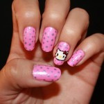 Pink Hello Kitty Nail Designs , 6 Hello Kitty Nail Designs In Nail Category