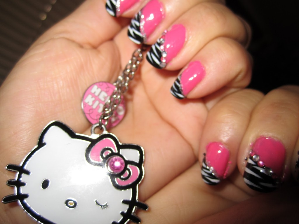6 Zebra Nail Designs in Nail