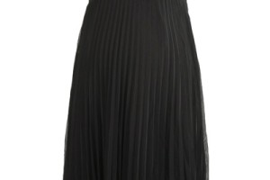 Fashion , 10 Maternity Little Black Dress : Pleated Little Black Dress