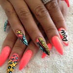 Pointy Nails Design , 7 Pointy Nails Design In Nail Category