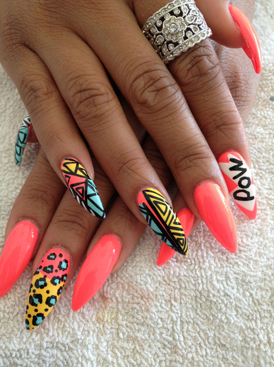 Pointy nails design 7 pointy nails design woman fashion large 400 x 534 prinsesfo Choice Image