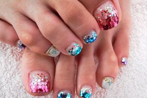 Nail , 6 Nail Art Designs For Toes : Pretty Pedicure Nail Art Ideas