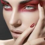 Red raccoon eyes , 7 Raccoon Eyes Makeup In Make Up Category
