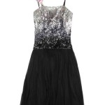 Sequin Flower Detail Dress , 7 Little Black Sequin Dress In Fashion Category
