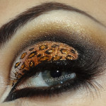 Sexy leopard eyes , 7 Cheetah Inspired Eye Makeup In Make Up Category