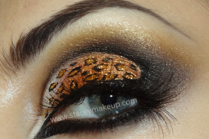 Make Up , 7 Cheetah Inspired Eye Makeup : Sexy leopard eyes