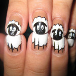Shaun the sheep nail art designs , 7 Cartoon Nail Designs In Nail Category