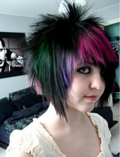Astonishing Short Emo Hairstyles 5 Emo Hairstyles For Girls With Short Hair Short Hairstyles Gunalazisus