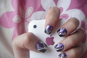 Nail , 3 Simple Nail Art Designs For Short Nails : Simple Nail Art Designs for Short Nails