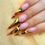 Stiletto Nails , 7 Stiletto Nails Designs In Nail Category