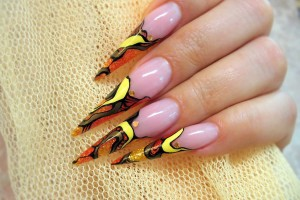 Nail , 7 Stiletto Nails Designs : Stiletto Nails