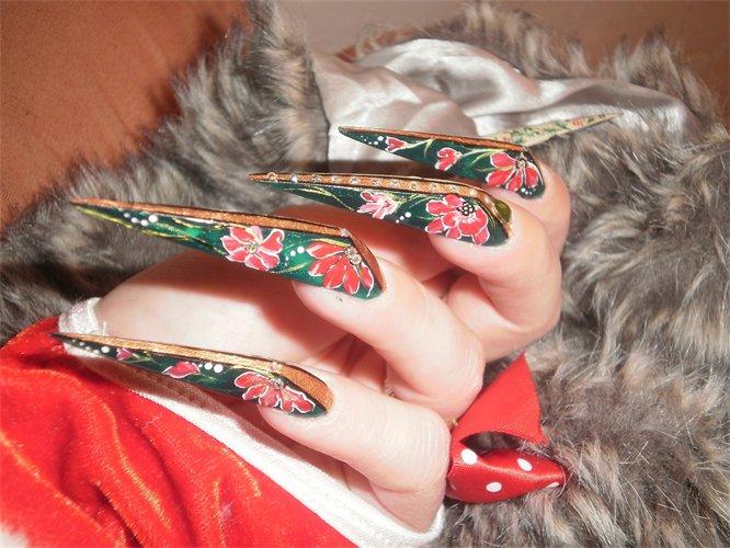Nail , 6 Stiletto Nail Designs : Stiletto Nail Arts
