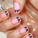Stylish Bows Nail Art Designs , 7 Bow Nail Designs In Nail Category