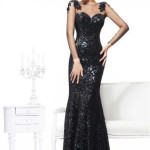 Sweetheart Mermaid Long Black Evening Dresses , 8 Long Black Mermaid Dress In Fashion Category