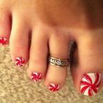 Toe Nail Art Designs , 6 Christmas Toe Nail Designs In Nail Category