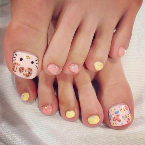 Toe nail art designs tumblr 4 toe nail designs tumblr woman large 500 x 500 prinsesfo Images