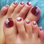 Toe Nail Designs , 6 Christmas Toe Nail Designs In Nail Category