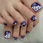 Toe Nails Art Designs Pictures , 6 Nail Art Designs For Toes In Nail Category