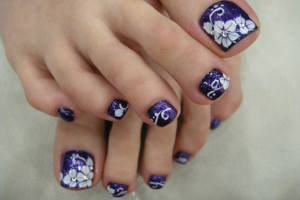 Nail , 6 Nail Art Designs For Toes : Toe Nails Art Designs Pictures