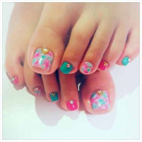 Toe Nails Designs Woman Fashion Nicepricesell