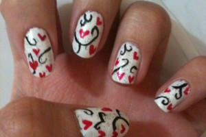 736x981px 7 Valentines Day Nail Designs Picture in Nail