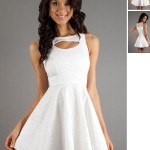 White Senior Graduation Dresses , Senior Graduation Dresses Collection In Fashion Category