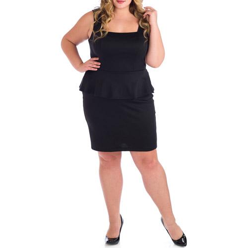 Fashion , 11 Little Black Dresses Plus Size Women : Women's Plus Size Little Black Dress