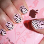 Zebra Nail Design , 6 Zebra Nail Designs In Nail Category