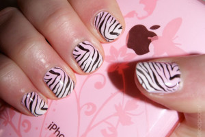 500x375px 6 Zebra Nail Designs Picture in Nail