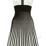Zipper Little Black And White Dress , 10 Little Black And White Dress In Fashion Category