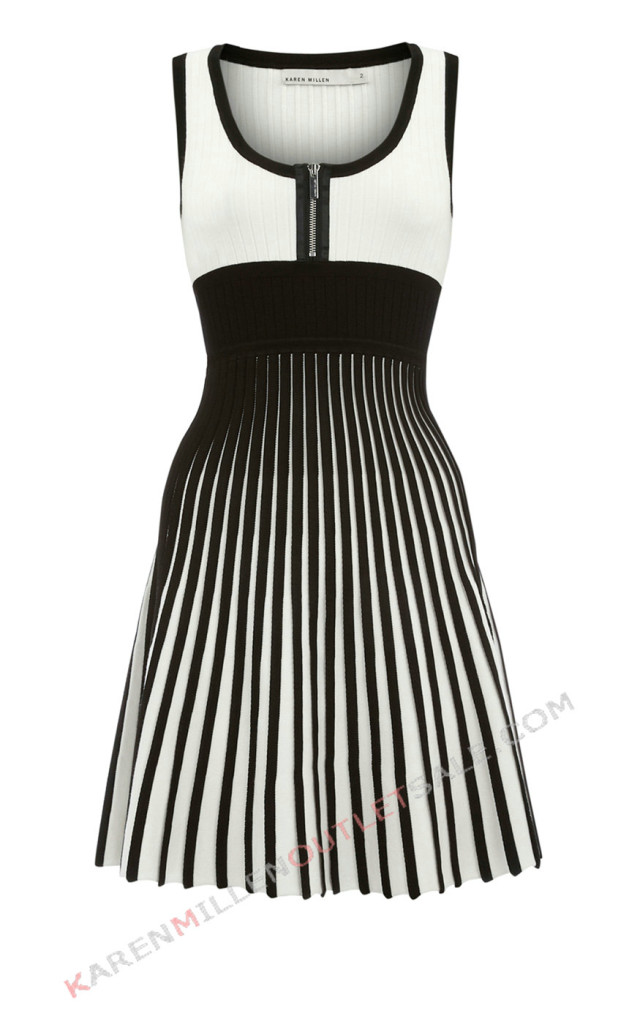 10 Little Black And White Dress in Fashion