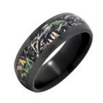 Zirconium with Mossy Oak Wedding Ring , Mossy Oak Camo Wedding Rings In Jewelry Category