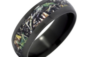 Jewelry , Mossy Oak Camo Wedding Rings : Zirconium with Mossy Oak Wedding Ring