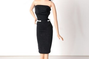 Fashion , 6 Little Black Dress Barbie : barbie basics little black dress barbie