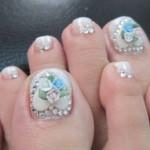 beauty christmas toe nail designs , 6 Christmas Toe Nail Designs In Nail Category