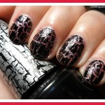 black crackle nail polish , 6 Crackle Nail Designs In Nail Category