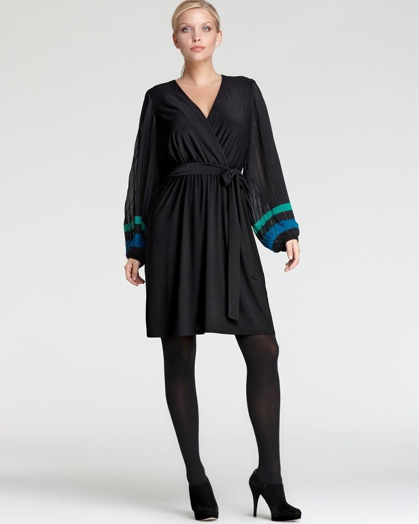 Fashion , 8 Long Sleeve Black Wrap Dress : Black Dresses With Long Sleeves